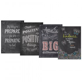 Inspire U Chalk It Up! Poster Pack #5, 4 Posters