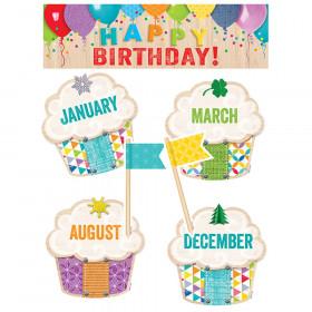 Upcycle Style Happy Birthday! Mini Bulletin Board