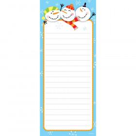Jolly Snowmen Note Pad