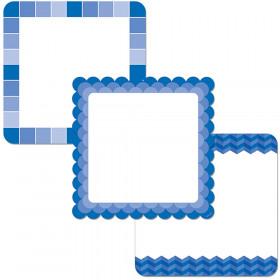 "Painted Palette Blue Chart Cards 10"" Designer Cut-Outs"