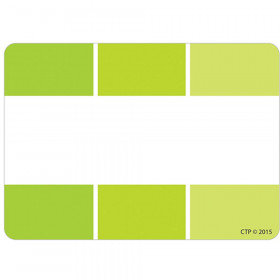 Painted Palette Lime Green Paint Chip Labels