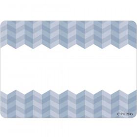 Painted Palette Slate Gray Herringbone Labels