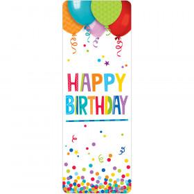 Happy Birthday Bookmark