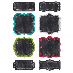 """Chalk It Up! Chart Cards 6"""" Designer Cut-Outs"""