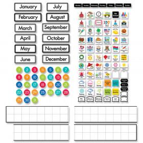 Linear Calendar Bulletin Board Set
