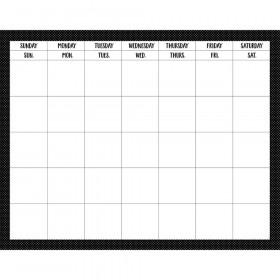 """Swiss Dots Calendar Chart, 28"""" x 22"""""""