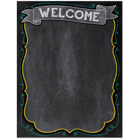 Chalk It Up! Welcome Chart