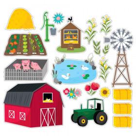 Farm Friends Farm Fun Bulletin Board Set