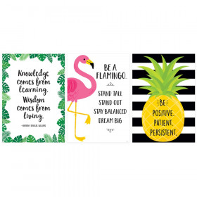 Palm Paradise Inspire U 3-Poster Pack