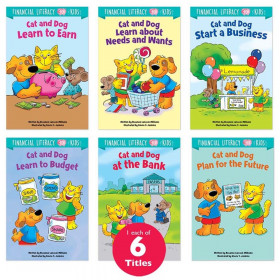 Financial Literacy for Kids 6-Book Pack