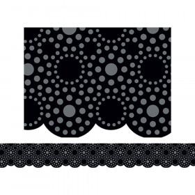 Lots of Dots Black Border
