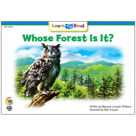 Learn to Read Book, Whose Forest Is It?
