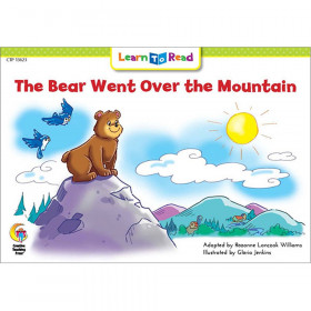 Learn to Read Book, The Bear Went Over the Mountain