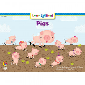 Learn to Read Book, Pigs