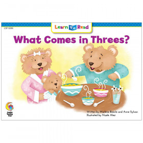 What Comes In Threes Learn To Read