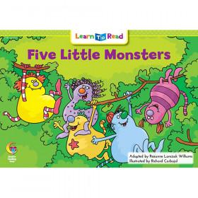 Five Little Monsters Learn To Read