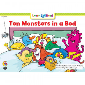 Ten Monsters In A Bed Learn To Read