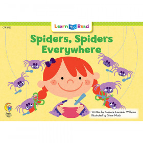 Spiders Spiders Everywhere Learn To Read