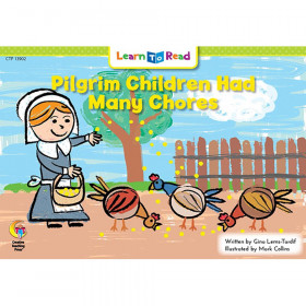 Pilgrim Children Had Many Chores Learn To Read