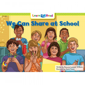 We Can Share At School Learn Toread
