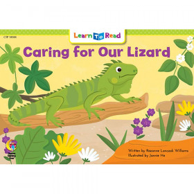 Learn to Read Book, Caring for Our Lizard