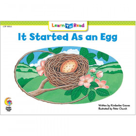 Learn to Read Book, It Started As an Egg