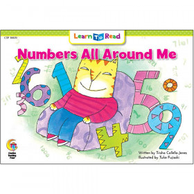 Learn to Read Book, Numbers All Around Me