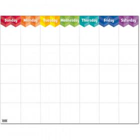 Painted Palette Large Calendar Chart