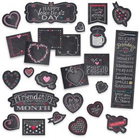 Chalk It Up! Chalk Hearts Mini Bulletin Board Set