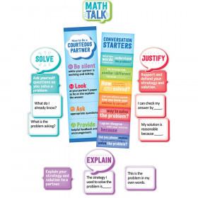 Math Talk Mini Bulletin Board Set, Grade 3 & Up