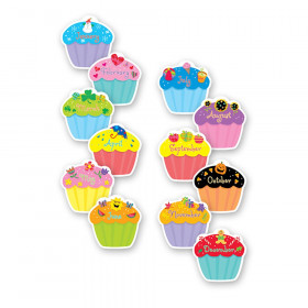 "Cupcakes 6"" Designer Cut-Outs, Pack of 36"