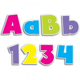 """Bold Brights 4"""" Designer Letters"""
