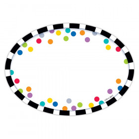 Bold Bright Stripes/Dots Labels