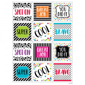 Bold & Bright Rewards Stickers, 60/Pack