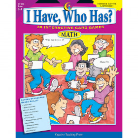 I Have, Who Has? Math, Gr. 3-4