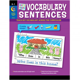 Cut & Paste Vocabulary Sentences