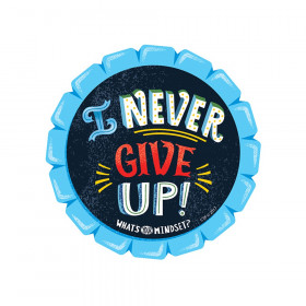I Never Give Up! Reward Badge, 36/Pack