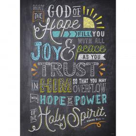 Romans 15:13 Rejoice Inspire U Poster