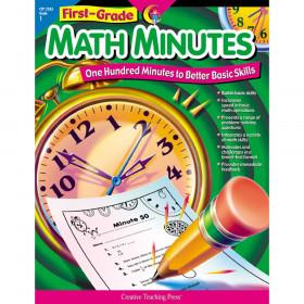 First-Grade Math Minutes Book