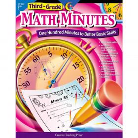 Third-Grade Math Minutes Book