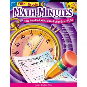 Fifth-Grade Math Minutes Book