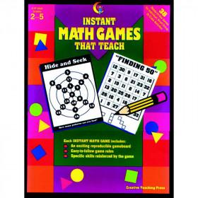Instant Math Games That Teach