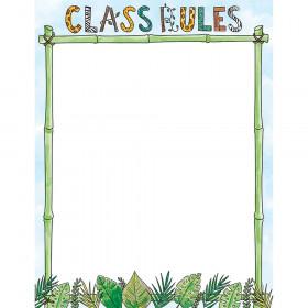 Safari Friends Class Rules Chart