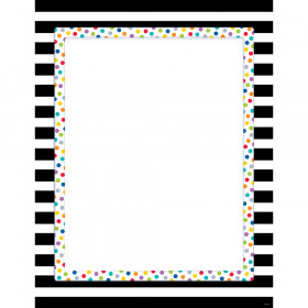 Bold And Bright Blank Chart