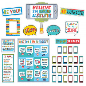 Believe In Your Selfie Bulletin Bulletin Board Set