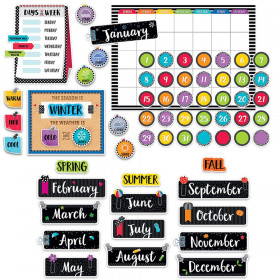 Bold Bright Calendar Set