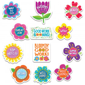 Springtime Blooms Reward Stickers