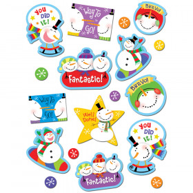 Snowmen Stickers