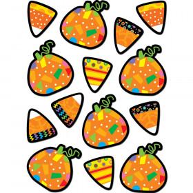 Pumpkins & Candy Corn Stickers