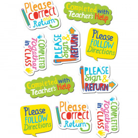 Time Saving Phrases Stickers